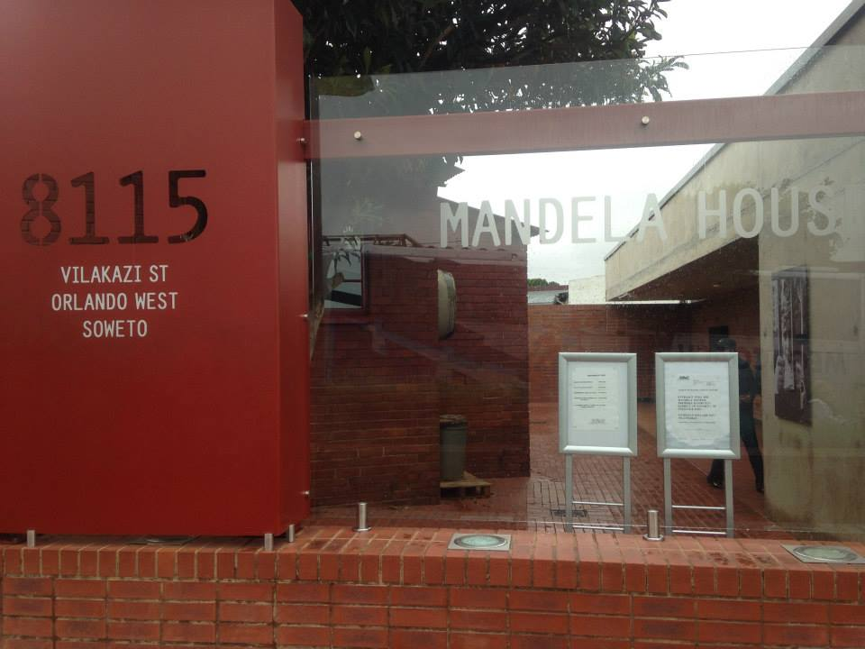 South Africa Mandela house