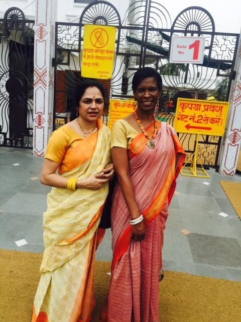 Outside Sai Baba Temple