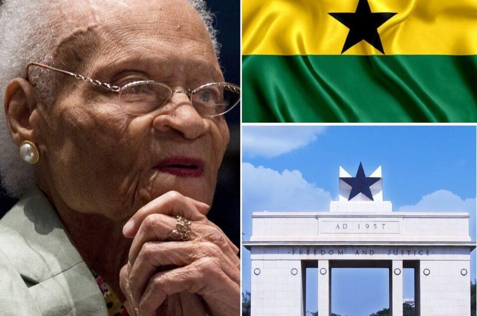 Tulsa Massacre Survivor, Viola Fletcher Visits Ghana